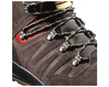 Chaussure Salomon UTILITY TS CSWP pour Homme Marron 376385