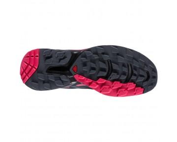 Chaussure Salomon WINGS PRO 2 W pour Femme Rose/Noir Chaussures De Running 381556