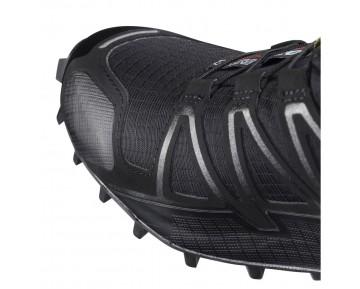 Chaussure Salomon SPEEDCROSS 4 W pour Femme Noir Chaussures De Running 383097