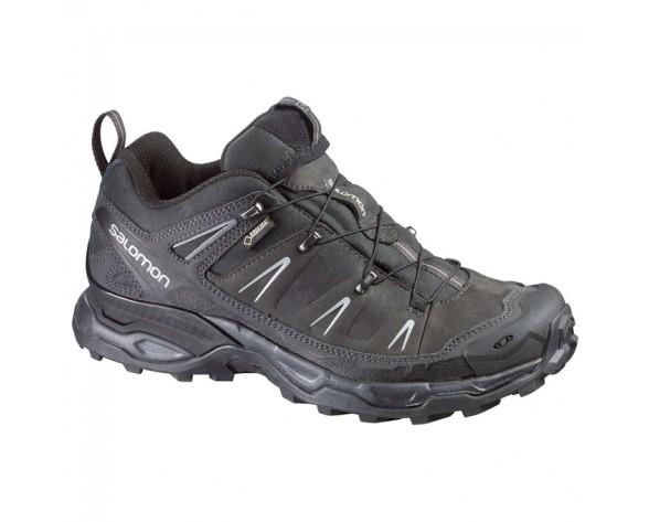 Chaussure Salomon X ULTRA LTR GTX® pour Homme Noir/Argent Chaussures De Randonnée 369024