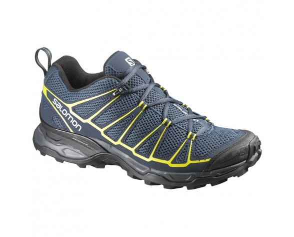 Chaussure Salomon X ULTRA PRIME pour Homme Marine/JAUNE/NOIR Chaussures De Randonnée 371672