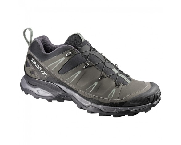 Chaussure Salomon X ULTRA LTR pour Homme Gris/Noir/Argent Chaussures De Randonnée 371682