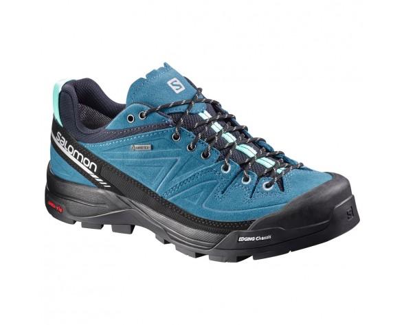 Chaussure Salomon X ALP LTR GTX® W pour Femme Noir/Bleu-ciel Chaussures D'alpinisme 379271