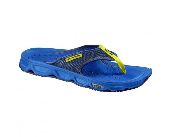 Chaussure Salomon RX BREAK pour Homme Royal-Bleu/Marine/Jaune Chaussures De Running 381607