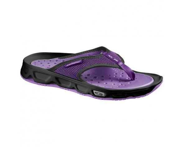 Chaussure Salomon RX BREAK W pour Femme Noir/Violet Chaussures De Running 381614