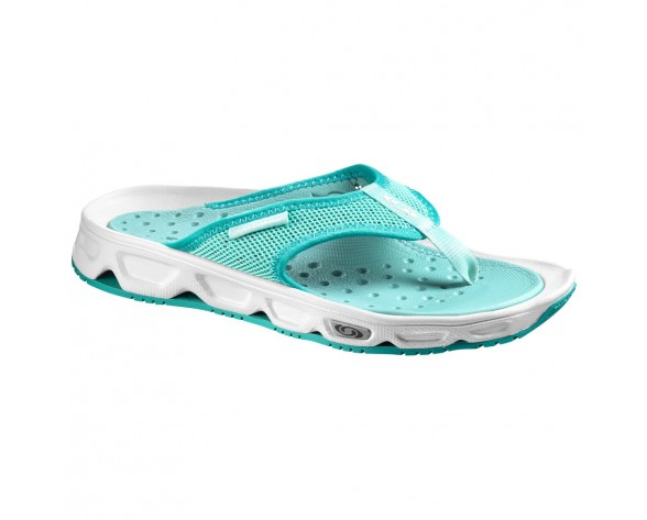 Chaussure Salomon RX BREAK W pour Femme Turquoise/Blanc Chaussures De Running 381616