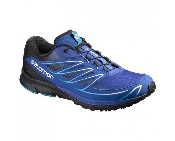 Chaussure Salomon SENSE MANTRA 3 pour Homme Royal-Bleu/Noir Chaussures De Running 390131
