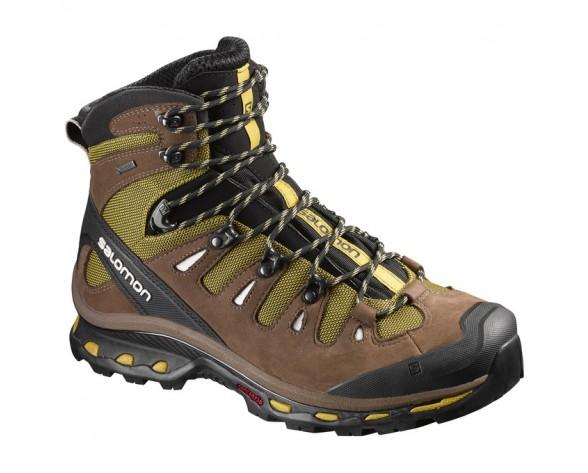 Chaussure Salomon QUEST 4D 2 GTX® pour Homme Marron/DarkKhaki Chaussures De Randonnée 390268