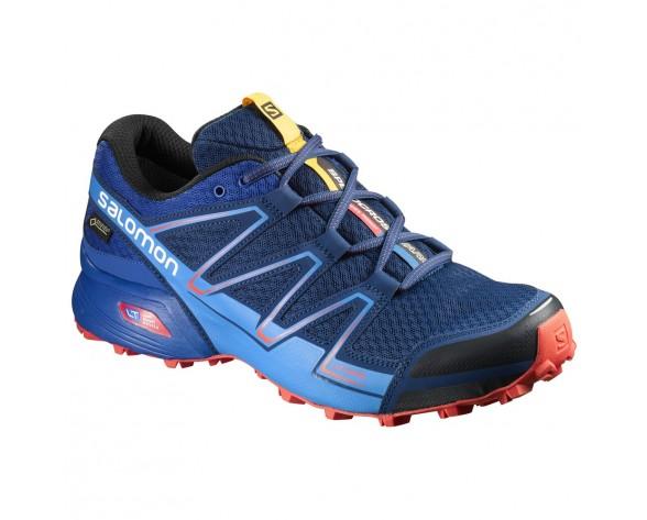 Chaussure Salomon SPEEDCROSS VARIO GTX® pour Homme Bleu-foncé Chaussures De Running 390548
