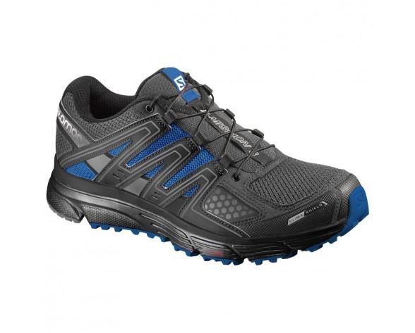 Chaussure Salomon X-MISSION 3 CS pour Homme Noir/Bleu Chaussures De Running 390549