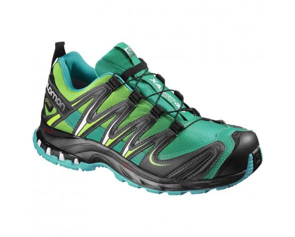 Chaussure Salomon XA PRO 3D GTX® W pour Femme Noir/Sarcelle Chaussures De Running 390713