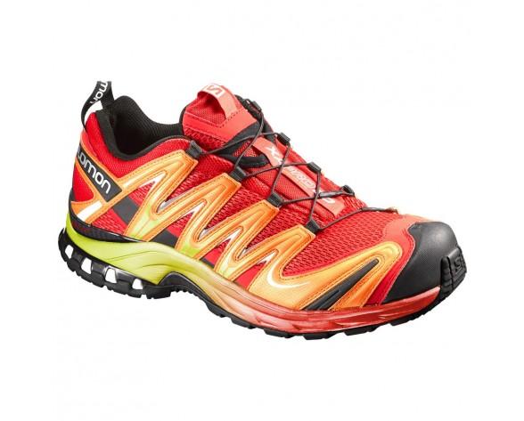 Chaussure Salomon XA PRO 3D pour Homme Rouge/Noir/Jaune Chaussures De Running 390717
