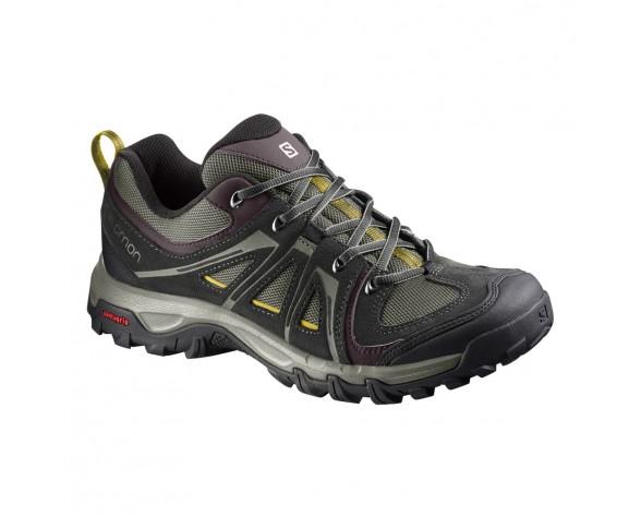 Chaussure Salomon EVASION AERO pour Homme Noir Chaussures De Randonnée 391826