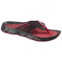 Chaussure Salomon RX BREAK pour Homme Noir/Bordeaux Chaussures De Running 370704