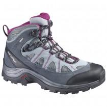 Chaussure Salomon AUTHENTIC LTR GTX® W pour Femme Gris/Rose Chaussures De Randonnée 373261