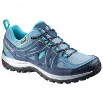 Chaussure Salomon ELLIPSE 2 GTX® W pour Femme Bleu-foncé/Turquoise Chaussures De Randonnée 378643