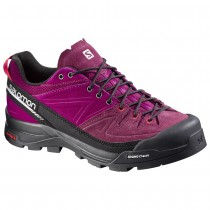 Chaussure Salomon X ALP LTR W pour Femme Noir/Bordeaux/Rose Chaussures D'alpinisme 379263