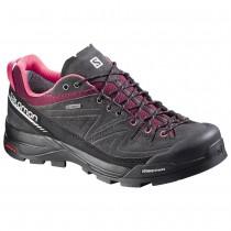 Chaussure Salomon X ALP LTR GTX® W pour Femme Noir/Gris/Bordeaux/Rose Chaussures D'alpinisme 379270