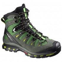 Chaussure Salomon QUEST 4D 2 GTX® pour Homme Noir/Vert-foncé Chaussures De Randonnée 379453