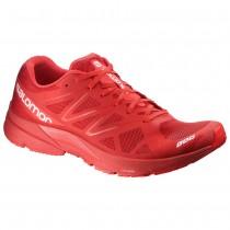 Chaussure Salomon S-LAB SONIC pour Homme Rouge Chaussures De Running 379459_01