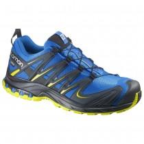 Chaussure Salomon XA PRO 3D GTX® pour Homme Bleu/Noir/Jaune Chaussures De Running 381554