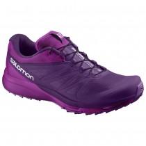 Chaussure Salomon SENSE PRO 2 W pour Femme Violet/Rose Chaussures De Running 381580