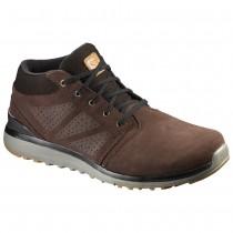 Chaussure Salomon UTILITY CHUKKA TS WR pour Homme Marron 383092