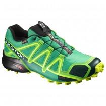 Chaussure Salomon SPEEDCROSS 4 GTX® pour Homme Mer-Vert Chaussures De Running 383119