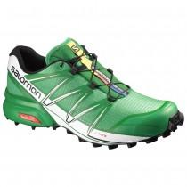 Chaussure Salomon SPEEDCROSS PRO pour Homme  Forêt-Verte Chaussures De Running 383121