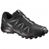 Chaussure Salomon SPEEDCROSS 4 pour Homme Noir Chaussures De Running 383130