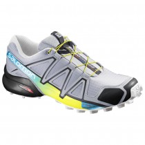 Chaussure Salomon SPEEDCROSS 4 pour Homme Gris Chaussures De Running 383131