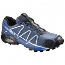 Chaussure Salomon SPEEDCROSS 4 pour Homme Bleu-foncé Chaussures De Running 383136