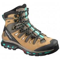 Chaussure Salomon QUEST 4D 2 GTX® W pour Femme Marron/Gris Chaussures De Randonnée 390269