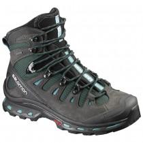 Chaussure Salomon QUEST 4D 2 GTX® W pour Femme Noir/Sarcelle Chaussures De Randonnée 390277