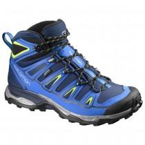 Chaussure Salomon X ULTRA MID 2 GTX® pour Homme Bleu/Bleu-foncé Chaussures De Randonnée 390391