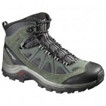 Chaussure Salomon AUTHENTIC LTR GTX® pour Homme Anthracite/Feuilles-de-Canard-Vert Chaussures De Randonnée 390409