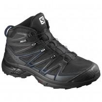 Chaussure Salomon X-CHASE MID CS WP pour Homme Noir Chaussures De Randonnée 390571