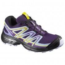 Chaussure Salomon WINGS FLYTE 2 W pour Femme Violet/Noir Chaussures De Running 390680