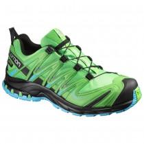 Chaussure Salomon XA PRO 3D GTX® pour Homme Vert-clair/Noir/Bleu Chaussures De Running 390711