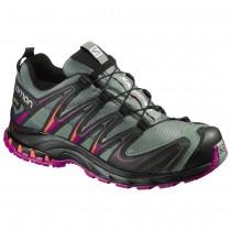 Chaussure Salomon XA PRO 3D GTX® W pour Femme Noir/Gris/rose Rouge Chaussures De Running 390715