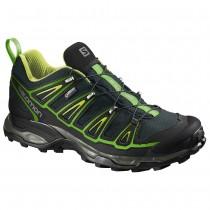 Chaussure Salomon X ULTRA 2 GTX® pour Homme Noir/Jaune/Vert Chaussures De Randonnée 391840
