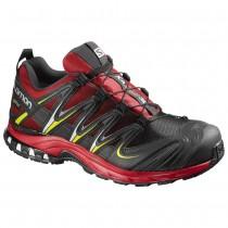 Chaussure Salomon XA PRO 3D GTX® pour Homme Noir/Rouge Chaussures De Running 391858