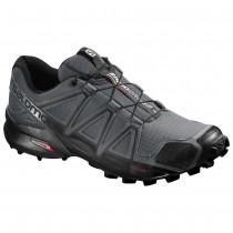 Chaussure Salomon SPEEDCROSS 4 pour Homme Anthracite Chaussures De Running 392253