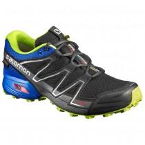 Chaussure Salomon SPEEDCROSS VARIO GTX® pour Homme Anthracite/Bleu Chaussures De Running 394060