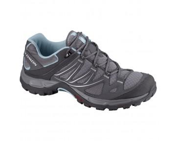Chaussure Salomon ELLIPSE AERO W pour Femme Gris/Noir Chaussures De Randonnée 308932