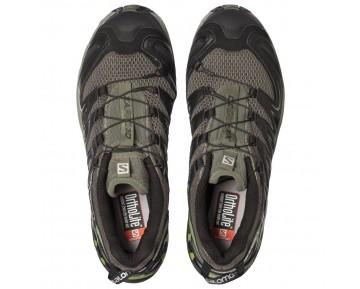 Chaussure Salomon XA PRO 3D pour Homme Marron/Noir/Vert-clair Chaussures De Running 356800
