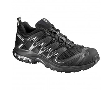 Chaussure Salomon XA PRO 3D W pour Femme Noir/Argent Chaussures De Running 356812