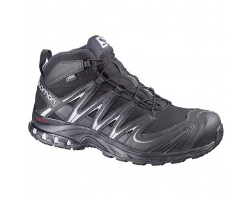 Chaussure Salomon XA PRO MID GTX® pour Homme Noir/Argent Chaussures De Randonnée 366780