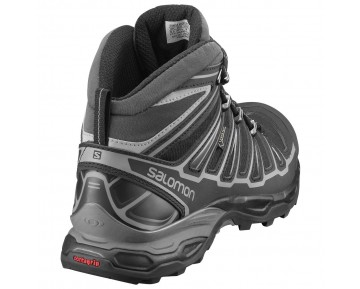 Chaussure Salomon X ULTRA MID 2 GTX® pour Homme Noir/Argent Chaussures De Randonnée 370770
