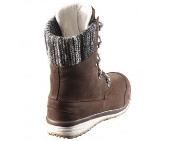 Chaussure Salomon HIME MID LTR CSWP pour Femme Marron 376501